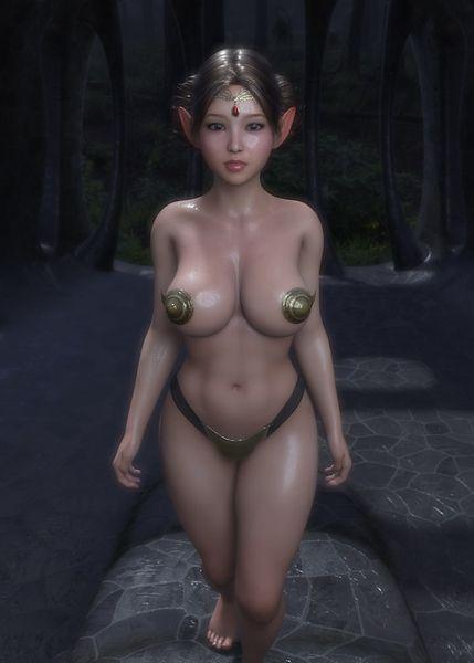 アリエル・高貴なるエルフの娘はゴブリン族長の性奴隷